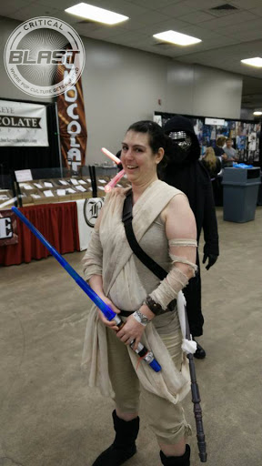 Jamie Krakover as STAR WARS: THE FORCE AWAKENS' Rey.