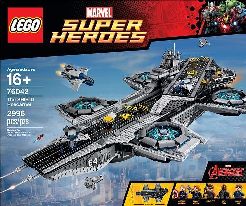 LEGO SHIELD Helicarrier Marvel Super Heroes CriticalBlast.com