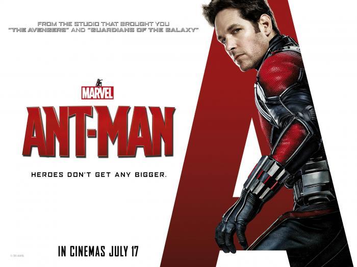Paul Rudd is ANT-MAN. Opens 7/17/15.
