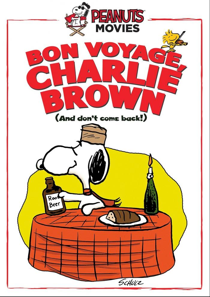 Bon Voyage Charlie Brown DVD Charles Schulz Peanuts Snoopy Critical Blast