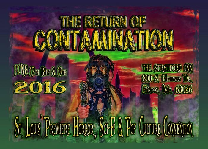 Con-tamination Saint Louis 2016 convention horror sci-fi pop culture