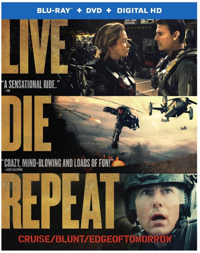 Edge of Tomorrow on Blu-ray