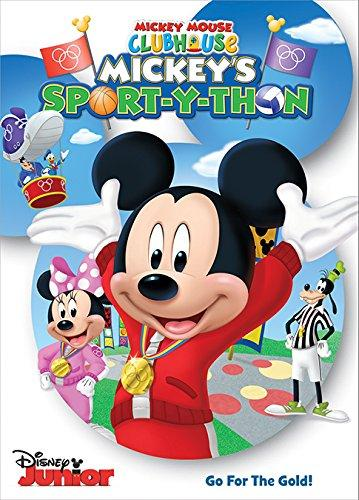 Mickey Mouse Clubhouse Sport-Y-Thon DVD Critical Blast Disney