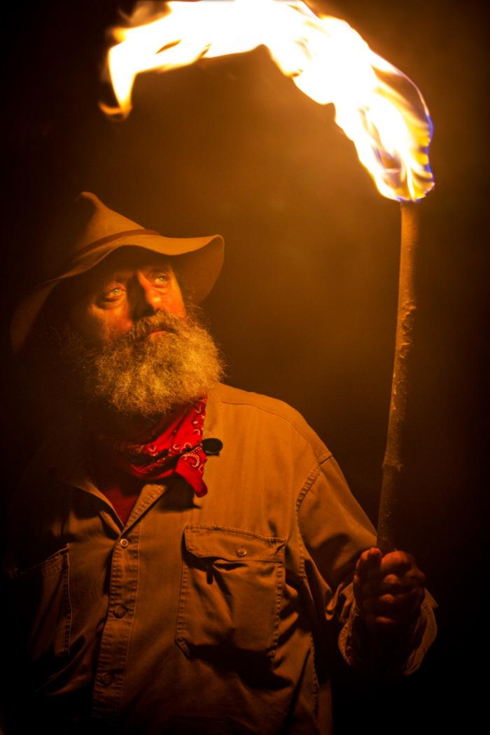 Trapper, co-founder and leader of the Appalachian Investigators of Mysterious Sightings. Credit: Destination America