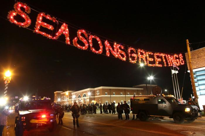 November 24, 2014 in Ferguson, Missouri. Justin Sullivan/Getty Images/AFP