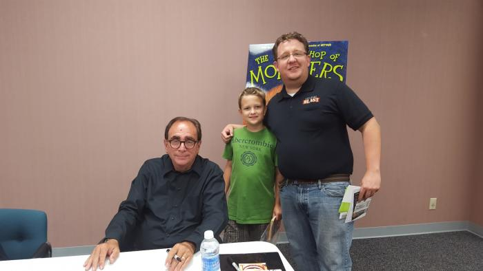 RL Stine Tavis Munro Happy Birthday