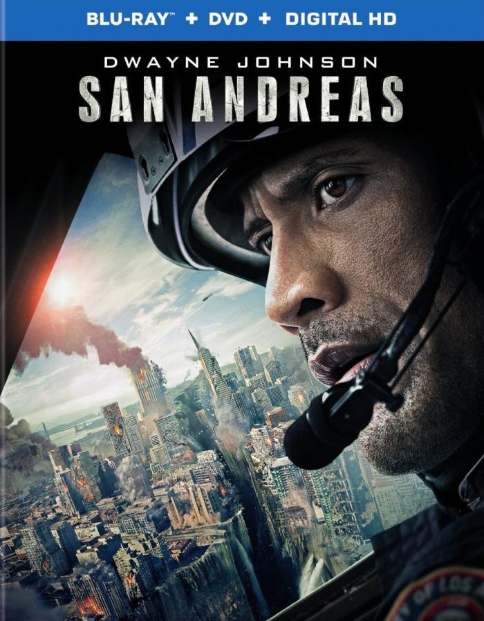 San Andreas Blu-Ray Dennis Russo Critical Blast Dwayne Johnson