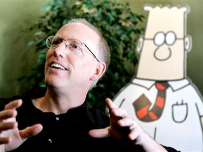 Scott Adams and Dilbert