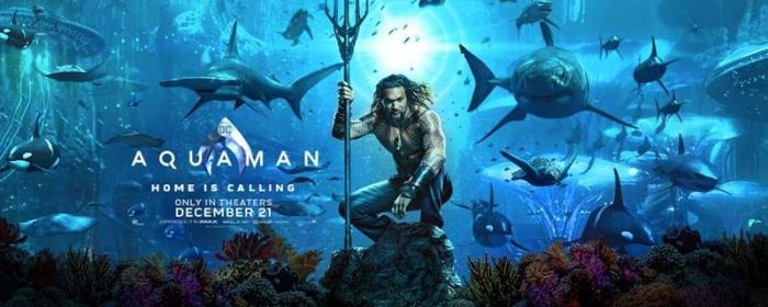 Prepare yourself for a nearly three hour tour...a three hour tour...when Aquaman starts everywhere Dec 21, 2018.