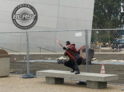 Jamie Krakover as ARROW's Speedy -- an archer at the Arch!