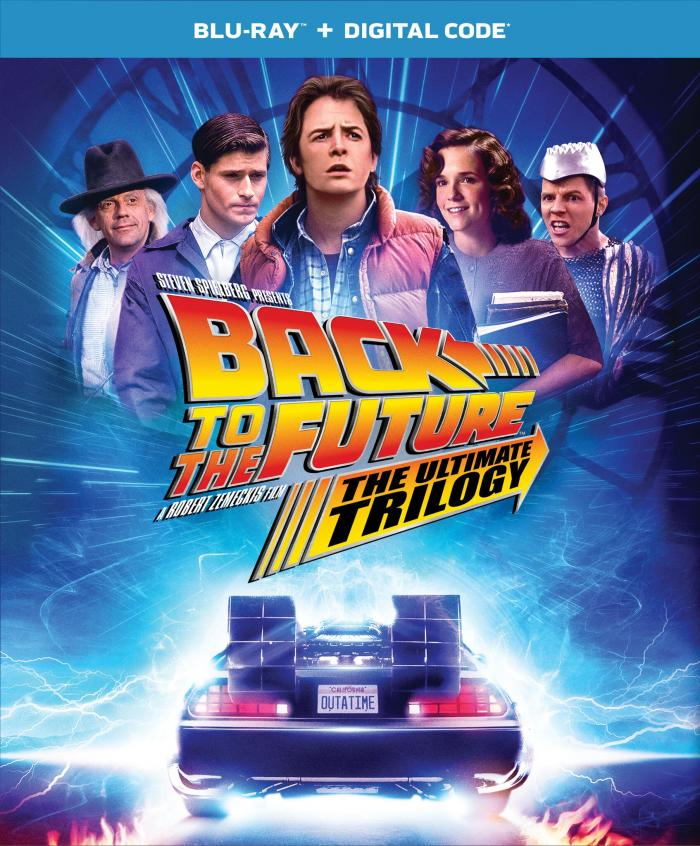 Back to the Future Bluray
