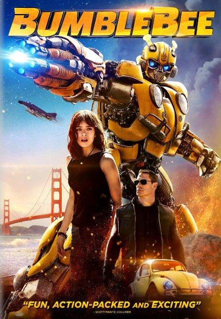 Bumblebee Blu-ray and DVD