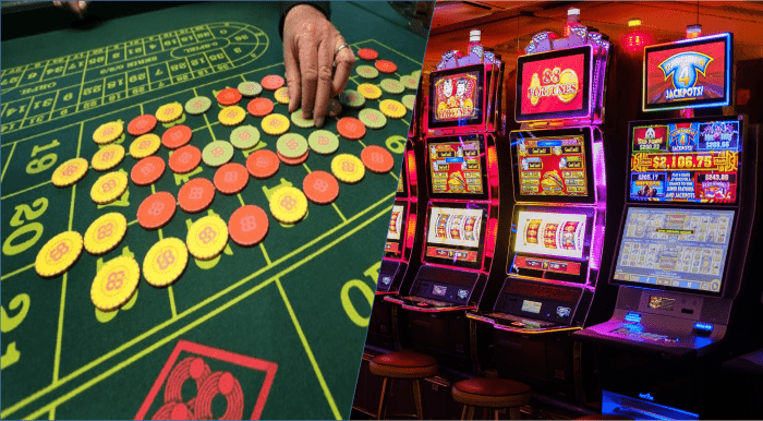 Table Games or Slots?