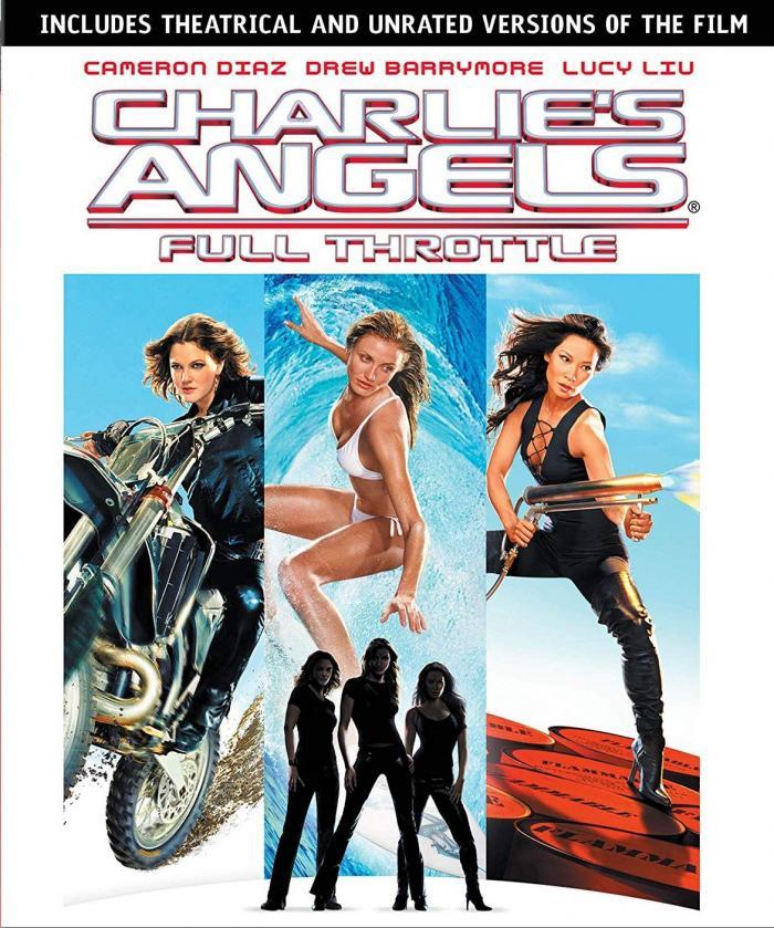 Charlies Angels Full Throttle Blu-ray