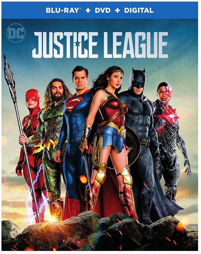 Justice League on Blu-ray