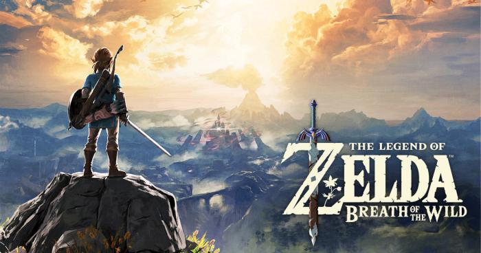 Legend of Zelda Breath of the Wild Best of 2017