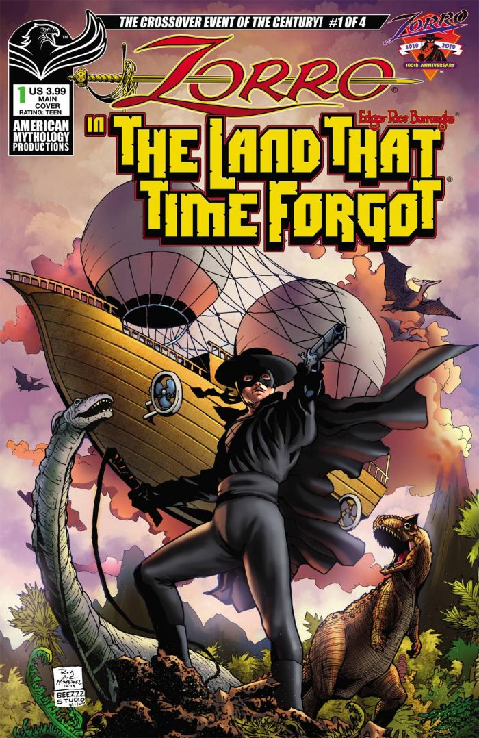 Zorro and the Land That Time Forgot 1