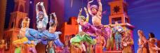 """The excellent ensemble cast of Disney's """"Aladdin"""" playing at the Fox Theatre Nov 7-25, 2018. Photo Credit: The Fabulous Fox Theatre"""