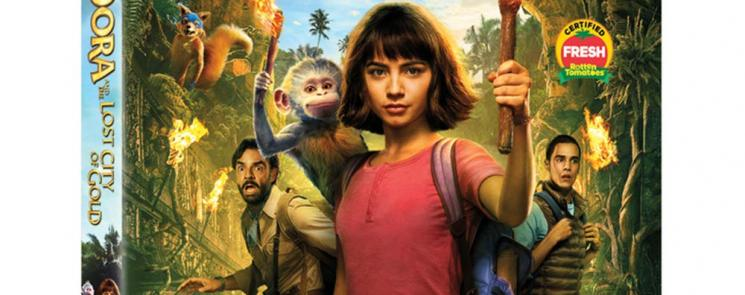 Dora and the Lost City of Gold Bluray