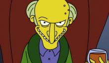 The Simpsons Mr Burns Harry Shearer Critical Blast