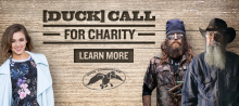 Duck Commander Duck Dynasty Charity Duck Calls Jase Robertson Sadie Robertson Si Robertson