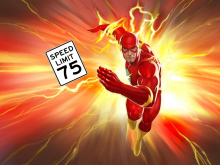 DC Comics Flash 75 Robert Venditti Van Jensen