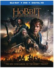 Hobbit Five Armies Blu-ray Peter Jackson Tolkien Critical Blast