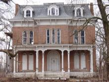 The McPike Mansion in Alton, IL