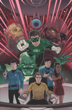 Star Trek Green Lanter Spectrum Warl IDW DC Comics Critical Blast