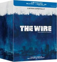 The Wire Complete Series Blu-ray HBO Critical Blast
