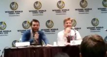 Liam McIntyre Rick Cosnett The Flash CW Panel Wizard World