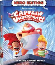 Captain Underpants on Blu-ray
