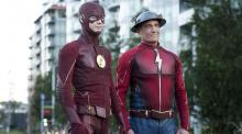 Flash Episode 302 Paradox Barry and Jay