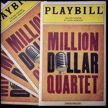 The Million Dollar Quartet runs Feb 27 - Mar 1 at the Fox Theatre in St. Louis.