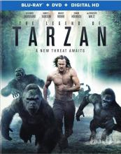 Legend of Tarzan Blu-ray