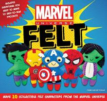 Marvel Universe Felt project book