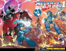 Megaman Worlds Unite Sonic