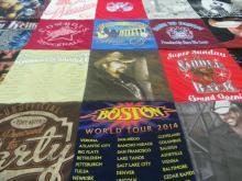 Project Repat Tee Shirt Quilt