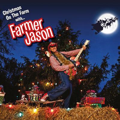 CD cover - Christmas on the Farm with Farmer Jason