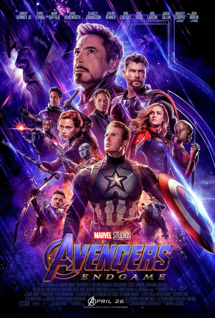 AVENGERS ENGAME is playing on nearly every movie screen near you. Go see it. Bring tissues. We'll talk later.
