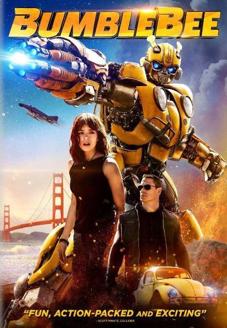 Bumblebee Blu-ray and DVD