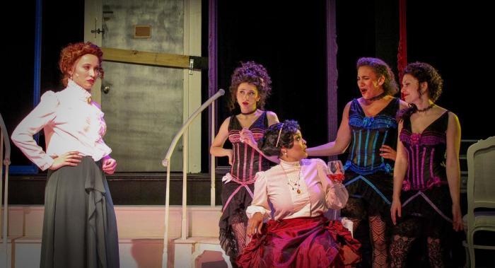 The Cast of Fly North Theatricals' MADAM. Photo Credit: Caroline Guffey