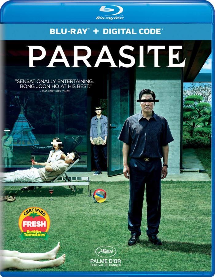 Parasite bluray