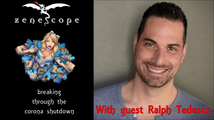 Zenescope livestream interview 2020-04-16