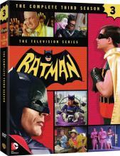 Batman 1966 Season 3 Warner Home Video DVD Critical Blast