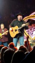 Garth Brooks performs at the Scottrade Center in St. Louis, 12/4/14. Photo by Jeff Ritter.