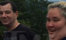 L-R: Mark McDaniel, June Shannon, photographed house hunting together by TMZ. Image copyright 2014, TMZ.com.