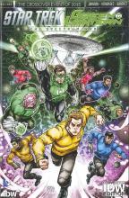 Star Trek Green Lantern Convention Cover Spectrum Wars IDW DC Critical Blast Contest