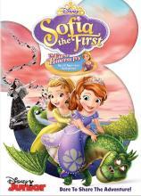 Sofia the First Disney Junior Curse of Princess Ivy DVD Critical Blast