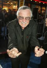 Stan Lee 2003 Critical Blast